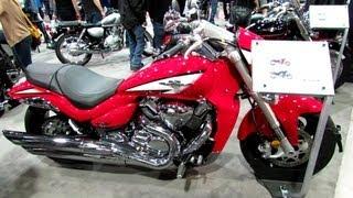 2. 2013 Suzuki Boulevard M109R Limited Edition - Walkaround - 2013 Quebec Motorcycle Show