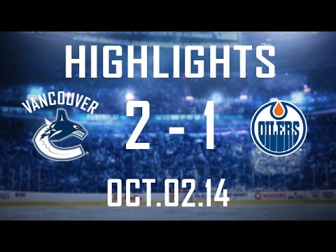 Canucks - Vancouver wins a spirited affair (82 PIM) in Edmonton as they score twice in the 2nd to get the victory. Alex Edler nets the winner as the Canucks play their...