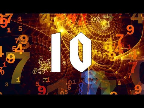 ⑩ Numerology Number 10. Secrets of your Birthday
