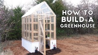 How to Build a Simple, Sturdy Greenhouse from 2x4's | Modern Builds | EP. 58