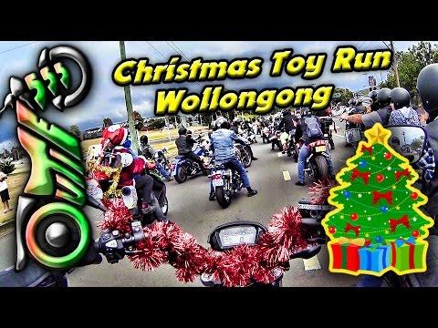 Christmas Toy Run | Honda CTX700N | 27th Annual City of Wollongong Bikers Toy Run 2016