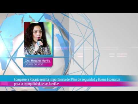 Compañera Rosario resalta importancia del Plan de Seguridad y Buena Esperanza para la tranquilidad de las familias