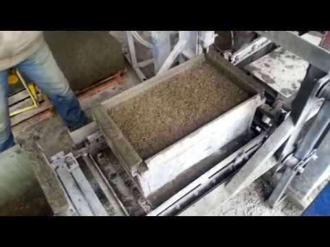 Арболитовые блоки своими руками видео фото