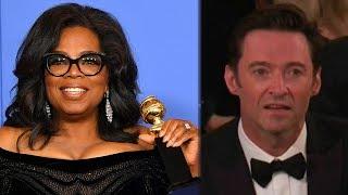 Video 10 BEST Moments From 2018 Golden Globes MP3, 3GP, MP4, WEBM, AVI, FLV Januari 2018