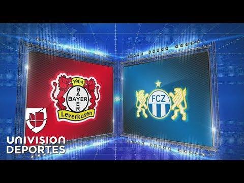 Bayer Leverkusen 1-0 Zurich - GOLY RESUMEN - Grupo A - UEFA Europa League