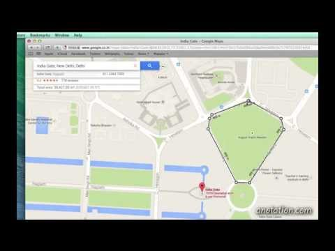 how to measure area in google earth