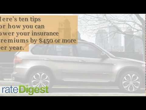 10 Tips To Cheap Car Insurance Premiums – Rate Digest Cheap Car Insurance Quotes