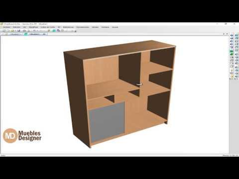 Polyboard 6.05-centro de entretenimiento-programa de diseño de muebles full