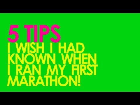 5 Tips for First Marathon