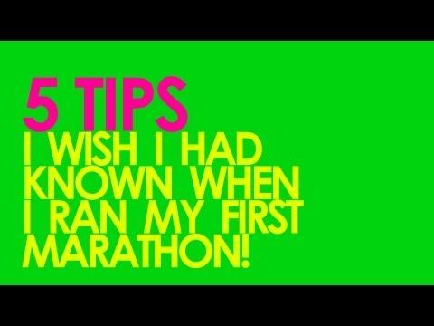 5 Tips for First Marathon