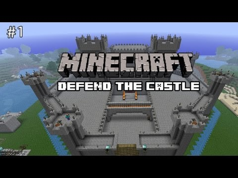 Minecraft: Defend The Castle – Epic Battle!