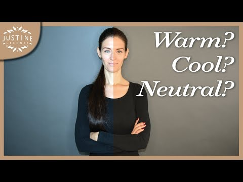 Is your skin warm or cool toned? | Why knowing your undertone matters | Justine Leconte