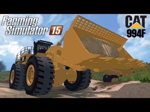CATERPILLAR 994F FOR SILAGE v1.0