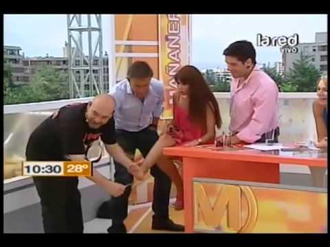 Las panelistas de Mañaneros muestran sus particulares pies