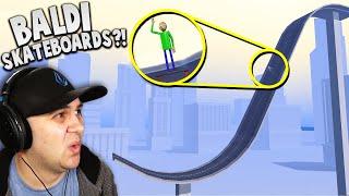 Video I LAUNCHED Baldi off a MASSIVE skateboard ramp! | Turbo Dismount MP3, 3GP, MP4, WEBM, AVI, FLV September 2019