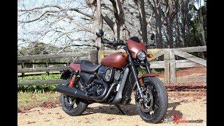 2. 2018 Harley Davidson Street Rod 750 Motorcycle Review