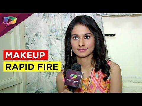 Aneri Vajani plays Makeup Rapid Fire