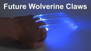 """This video shows my latest project: Homemade Wolverine Claws straight from the future!Check out my website for further information: http://www.doityourselfgadgets.comPlease subscribe to my channel for future projects!My Channel: http://www.youtube.com/user/TheLiquiderMy Website:http://www.doityourselfgadgets.com/Like me on facebook: http://www.facebook.com/DIYTechgadgetsMusic:MachinimaSound """"Remember the dreams"""" www.machinimasounds.comwww.machinimasound.com - Dance of the pixies© by DoityourselfGadgets"""