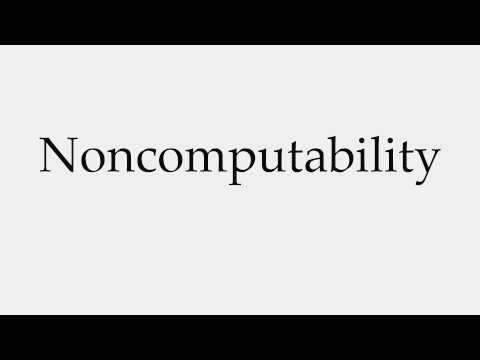 How to Pronounce Noncomputability