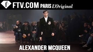 Alexander McQueen Men Fall/Winter 2015 | London Collections: Men | FashionTV