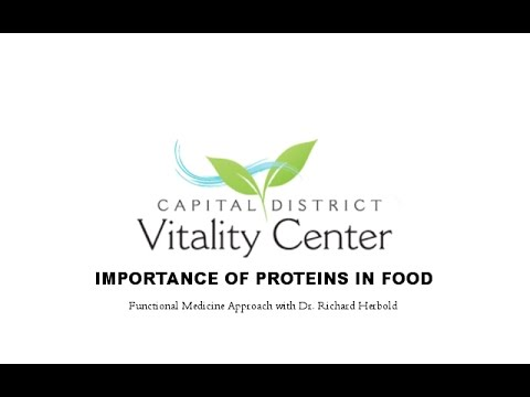 The Importance of Proteins in Food with Dr. Herbold