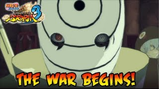 Naruto Shippuden Ultimate Ninja Storm 3 - The War Begins