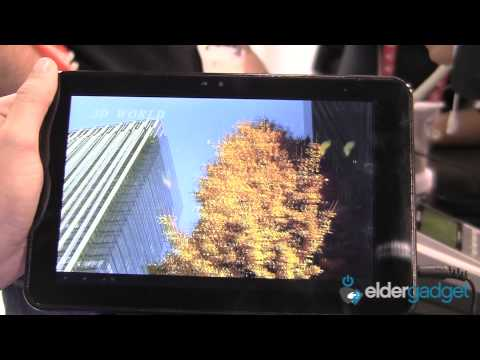 CES 2012 Video: Gadmei E8-3D Tablet