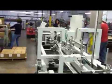 Bobst Fuego Inline Folding/Gluing Machine