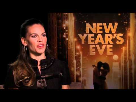 New Year's Eve Talent Interview - Hilary Swank - In Cinemas NOW!!!