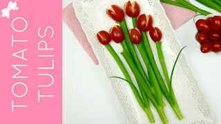 🎀RECIPE: http://www.lindsayannbakes.com/2017/05/video-hummus-stuffed-tomato-tulips.html🎀ALL-NEW VIDEOS: http://bit.ly/LindsayAnnBakesYouTube♡Adorable bouquet of edible tulips, made of hummus stuffed tomatoes, perfect for adding to any spring or summer snack table. These are so much fun to put together and come out super impressive. All you need are 3 ingredients for a quick, fun and healthy snack! They'd be the perfect appetizer for a picnic, BBQ, party or even for Mother's Day! It's healthy, fresh, and delicious with the hummus filling and couldn't be cuter.♡Have a video request that you would like to see? Let me know! Connect with me @LindsayAnnBakes to say hi & tag YOUR creations with #LindsayAnnBakes 🎀 FACEBOOK - lets be friends!http://www.facebook.com/LindsayAnnBakes🎀 INSTAGRAM - more behind the scenes!http://instagram.com/LindsayAnnBakes🎀 TWITTER - come tweet with me!http://twitter.com/LindsayAnnBakes🎀 PINTEREST - sweet inspiration!http://pinterest.com/LindsayAnnBakes🎀 BLOG - check out more of my recipes!http://www.LindsayAnnBakes.com🎀 FOLLOW ALONG - subscribe to get recipes in your email!http://bit.ly/LindsayAnnBakesEmailRecipes🎀 EMAIL - drop me a line!LindsayAnn@LindsayAnnBakes.com