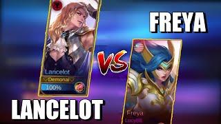 LANCELOT VS FREYA | WHO WILL WIN ? | MOBILE LEGENDS