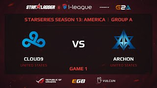 Cloud9 vs Archon, game 1