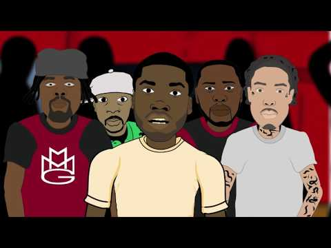 Cassidy Vs Meek Mill Rap Battle (Hosted By Bow Wow) [Cartoon Spoof]