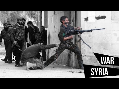 War Syria - military conflict 2017