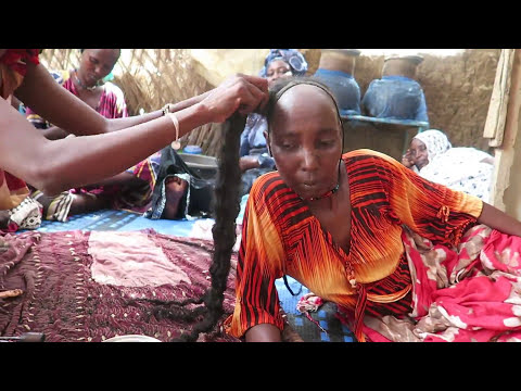 Long Kinky Hair Secret From Chad In Africa