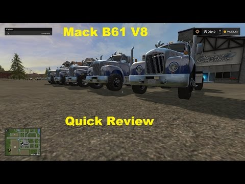Mack Truck und Trailer Set v1.1.0.1