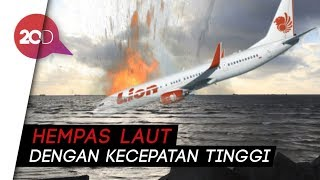 Video Terungkap! Lion Air JT 610 Pecah Saat Nabrak Air MP3, 3GP, MP4, WEBM, AVI, FLV November 2018