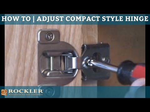 BLUM - Adjusting Compact Style Hinges