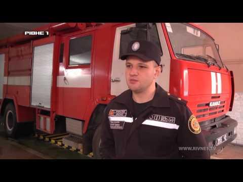 На Рівненщині рятувальники витягали автівку з кювету [ВІДЕО]