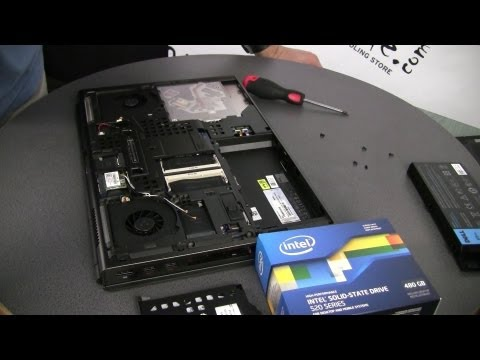 My Dell Precision M4700 performance laptop unboxing and tweaking