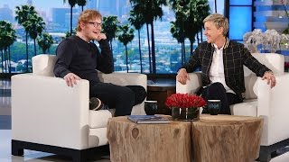 The Grammy-winning artist told Ellen about why he got rid of his phone, and the impact it's had on his daily life.