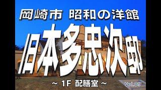 旧本多忠次邸 Vol.9 【1F 配膳室】