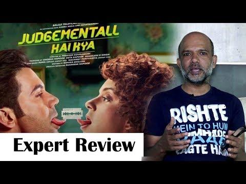 Judgemental Hai Kya EXPERT Review | Kangana Ranaut, RajKumar Rao