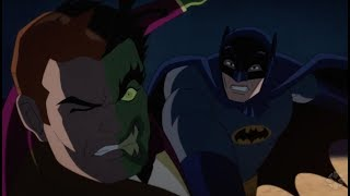 VIDEO: BATMAN VS. TWO-FACE – Trailer with Adam West and William Shatner