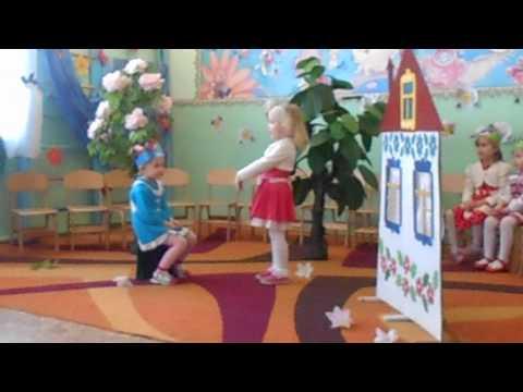 Свято 8 березня. Сценка для мам в дитячому садку
