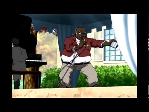Boondocks Season 1 Episode 1 - Uncle Ruckus Singing
