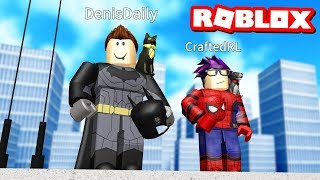2 PLAYER SUPERHERO TYCOON IN ROBLOX