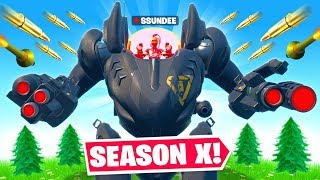 BRUTE MECH is *OP* in Fortnite Season 10