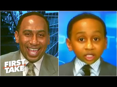 Stephen A. reacts to BABY First Take