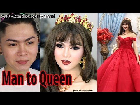 Power of Makeup - Boy Transformed To Beauty Queen